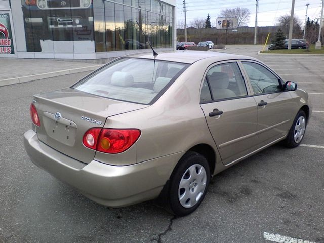 2004 toyota corolla ce sedan mississauga ontario used. Black Bedroom Furniture Sets. Home Design Ideas