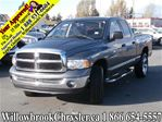 2005 Dodge RAM 1500 Quad Cab 4X4 SLT in Langley, British Columbia