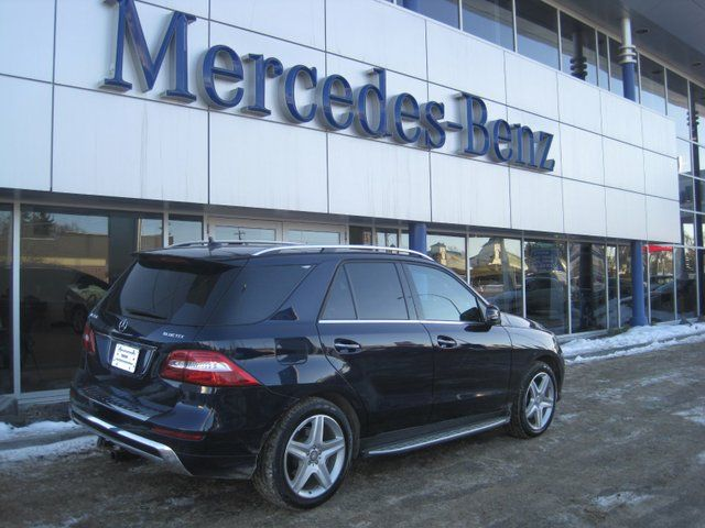 2013 mercedes benz m class ml350 bluetec 4matic edmonton. Black Bedroom Furniture Sets. Home Design Ideas