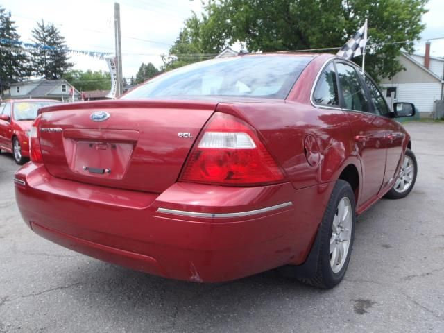 2007 ford five hundred sel oshawa ontario used car for sale. Black Bedroom Furniture Sets. Home Design Ideas