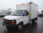 2009 Chevrolet Express Commercial Cutaway 3500-12'CUBE WITH PWR REAR GATE in Belleville, Ontario