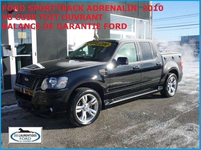 Used 2010 Ford Explorer Sport Trac Adrenalin For Sale In Mississauga