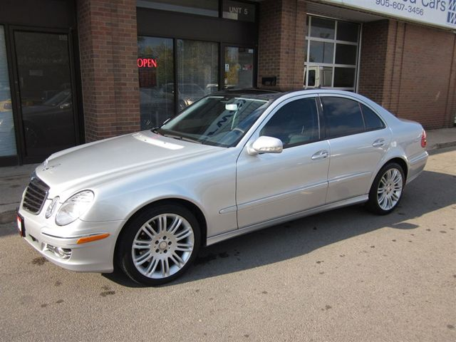 2008 mercedes benz e class e350 4matic panoramic roof for Mercedes benz e 350 2008