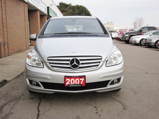 2007 mercedes benz b class b200 mississauga ontario used car for sale. Black Bedroom Furniture Sets. Home Design Ideas