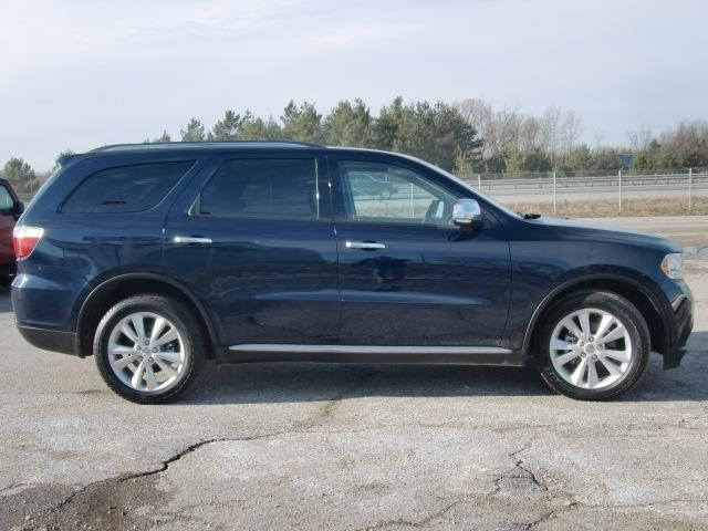 2012 dodge durango crew plus awd orillia ontario used car for sale 1107928. Black Bedroom Furniture Sets. Home Design Ideas