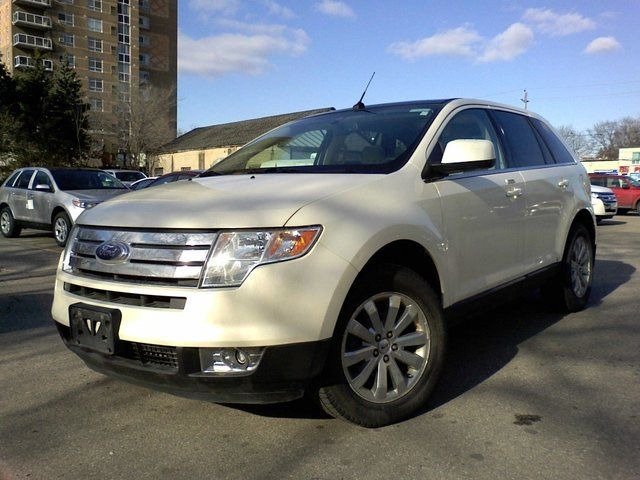 Gas mileage for 2008 ford edge