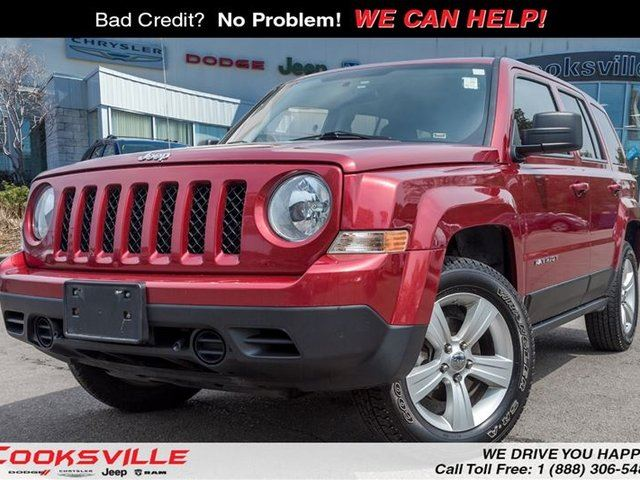 2012 Jeep Patriot Sport/North 4x4, TRADE IN in Mississauga, Ontario