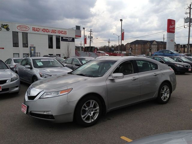 2009 acura tl sedan mississauga ontario used car for sale. Black Bedroom Furniture Sets. Home Design Ideas