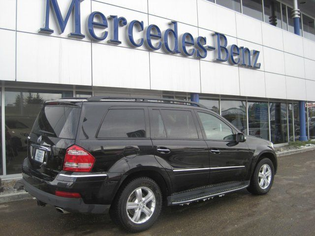 2007 mercedes benz gl class gl450 4matic edmonton. Black Bedroom Furniture Sets. Home Design Ideas