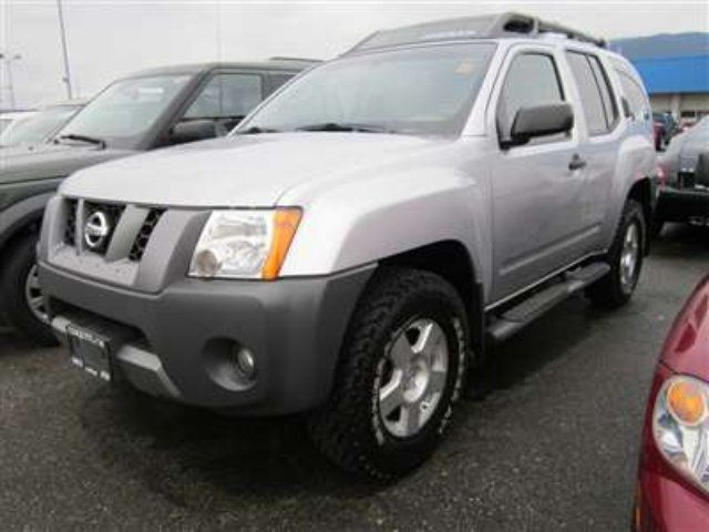 2008 nissan xterra s sport utility coquitlam british columbia used car for sale. Black Bedroom Furniture Sets. Home Design Ideas