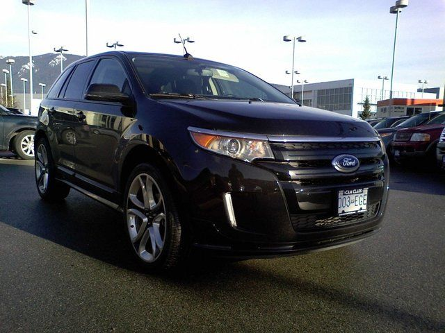 2013 ford edge sport north vancouver british columbia used car for sale. Black Bedroom Furniture Sets. Home Design Ideas