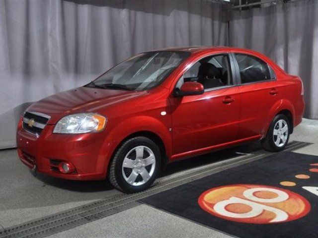2007 Chevrolet Aveo Lt Sunroof Automatic Accident Free Edmonton Alberta Used Car For Sale