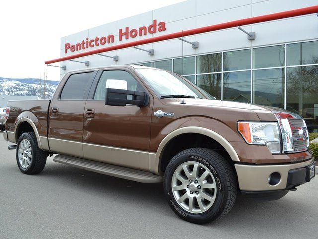 2012 ford f 150 king ranch 4x4 supercrew penticton british columbia used car for sale. Black Bedroom Furniture Sets. Home Design Ideas