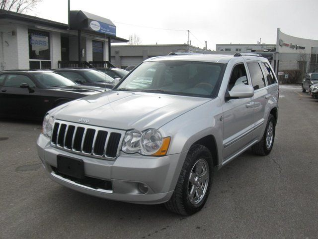 2007 Jeep Grand Cherokee Overland Sport Utility in Mississauga, Ontario