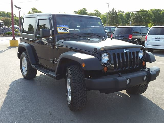 2012 jeep wrangler sport manual a c black belleville. Cars Review. Best American Auto & Cars Review