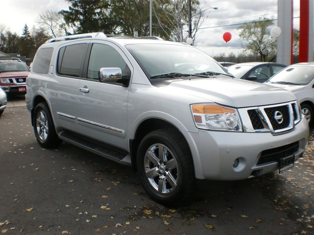 2012 nissan armada platinum edition niagara falls ontario used car for sale. Black Bedroom Furniture Sets. Home Design Ideas