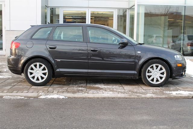 2007 audi a3 2 0t sportback s line panorama roof toronto ontario used car for sale. Black Bedroom Furniture Sets. Home Design Ideas