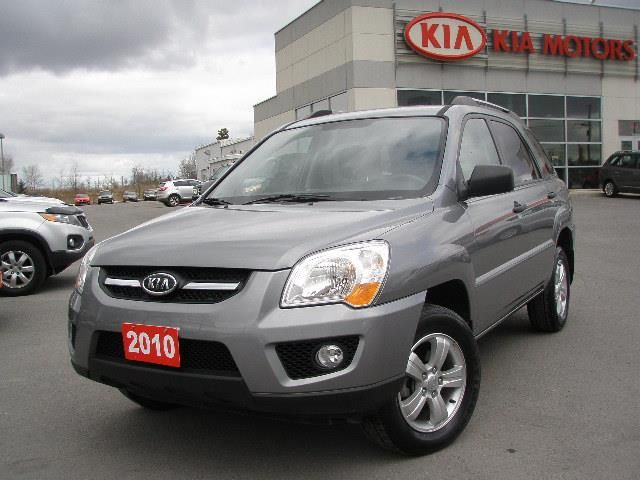 2010 kia sportage lx convenience kingston ontario used car for sale. Black Bedroom Furniture Sets. Home Design Ideas