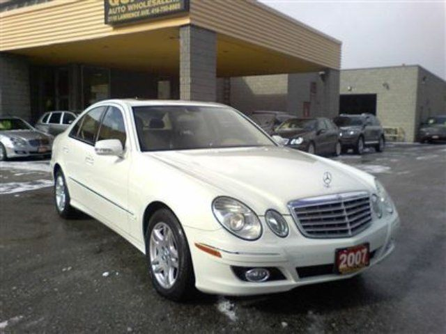 2007 mercedes benz e class base scarborough ontario for Mercedes benz scarborough
