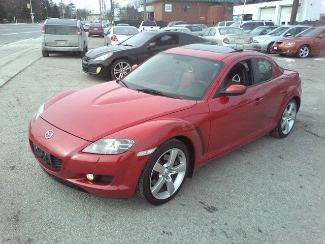2005 mazda rx 8 gt 6 speed roof scarborough ontario. Black Bedroom Furniture Sets. Home Design Ideas