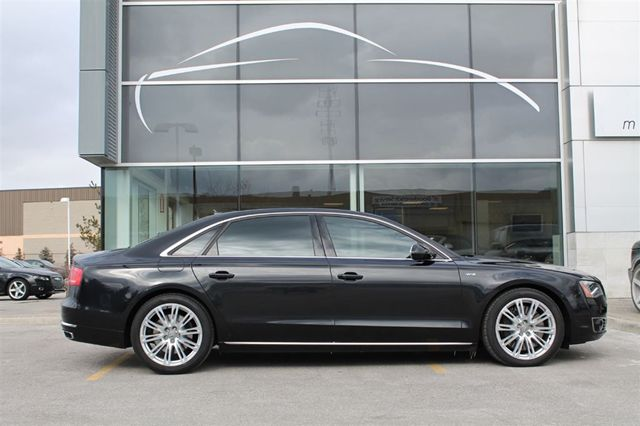 2013 audi a8 l w12 6 3 toronto ontario used car for sale. Black Bedroom Furniture Sets. Home Design Ideas