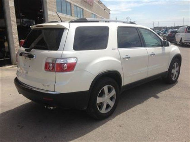 2012 gmc acadia slt 1 w sunroof dvd 8 passenger winnipeg manitoba used car for sale. Black Bedroom Furniture Sets. Home Design Ideas