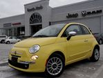 2012 Fiat 500 CONV LOUNGE W/LEATHER/CLEAN CARPROOF!BOSS SOUND SY in Thornhill, Ontario