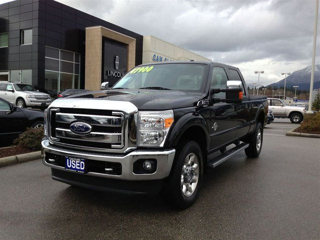 2011 ford f 350 lariat north vancouver british columbia used car for sale. Black Bedroom Furniture Sets. Home Design Ideas