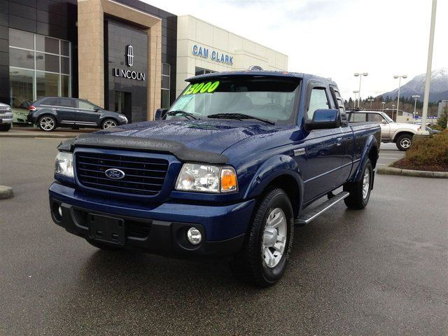 2008 ford ranger sport north vancouver british columbia. Black Bedroom Furniture Sets. Home Design Ideas