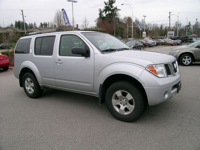 2007 nissan pathfinder 4x4 surrey british columbia used car for sale. Black Bedroom Furniture Sets. Home Design Ideas