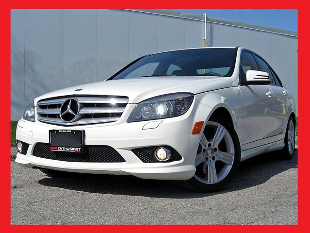 2010 mercedes benz c class c300 4matic amg toronto for How much is service c for mercedes benz