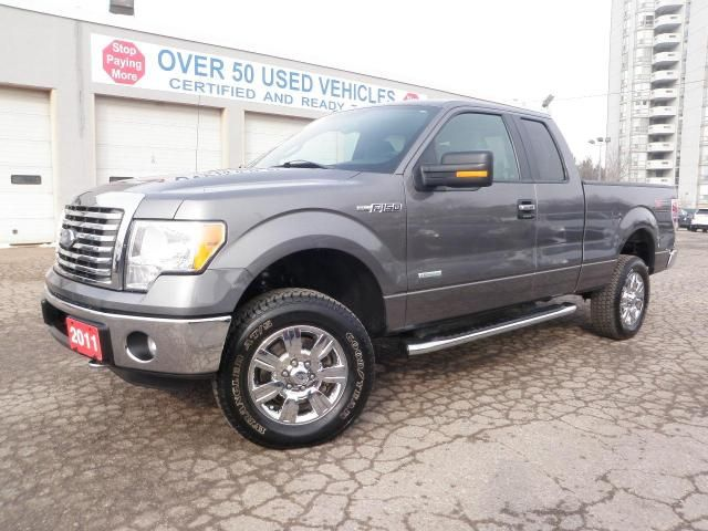 2011 ford f 150 xlt xtr 4x4 ecoboost georgetown ontario used car for sale. Black Bedroom Furniture Sets. Home Design Ideas