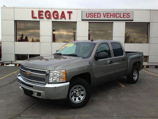 2013 chevrolet silverado 1500 lt 4x4 heated leather crew cab 5 3l in. Cars Review. Best American Auto & Cars Review