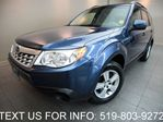 2011 Subaru Forester 2.5X AWD POWER SEAT! NEW TIRES! ALLOYS! CERTIFIED! in Guelph, Ontario