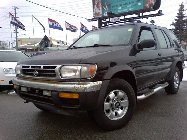 1998 nissan pathfinder we buy and trade call now for more. Black Bedroom Furniture Sets. Home Design Ideas