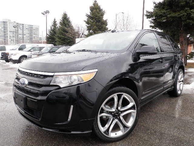 2013 ford edge sport scarborough ontario used car for sale. Black Bedroom Furniture Sets. Home Design Ideas