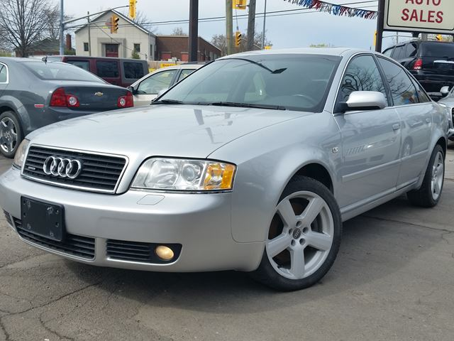 2003 AUDI A6 2.7 QUATTRO AWD in St Catharines, Ontario