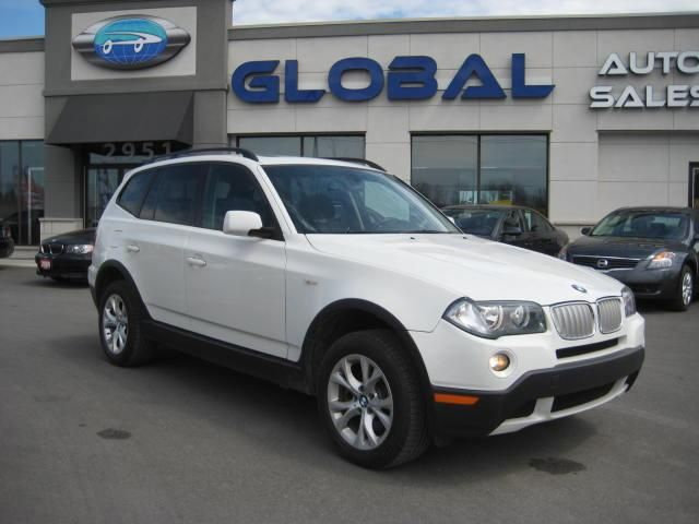 2009 bmw x3 30i ottawa ontario used car for sale. Black Bedroom Furniture Sets. Home Design Ideas