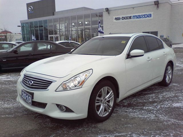 2010 infiniti g35 g37x sedan mississauga ontario used car for sale. Black Bedroom Furniture Sets. Home Design Ideas