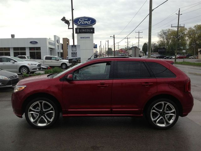 2013 ford edge sport awd loaded caledonia ontario used car for sale. Black Bedroom Furniture Sets. Home Design Ideas