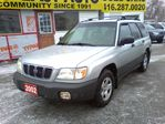 2002 Subaru Forester L  / S U V / AWD / LOADED / / SOLD in Scarborough, Ontario