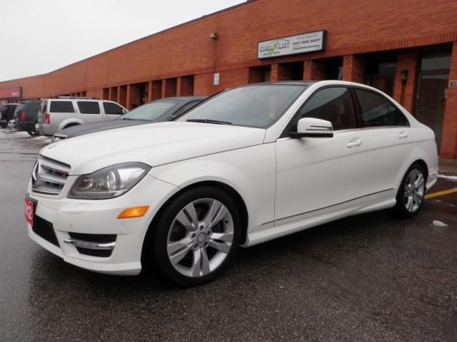 Vehicle details for 2012 mercedes benz c300 price