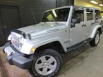 2011 Jeep Wrangler Unlimited Sahara NAVIGATION TWO TOPS!! LEATHER!!! in Listowel, Ontario