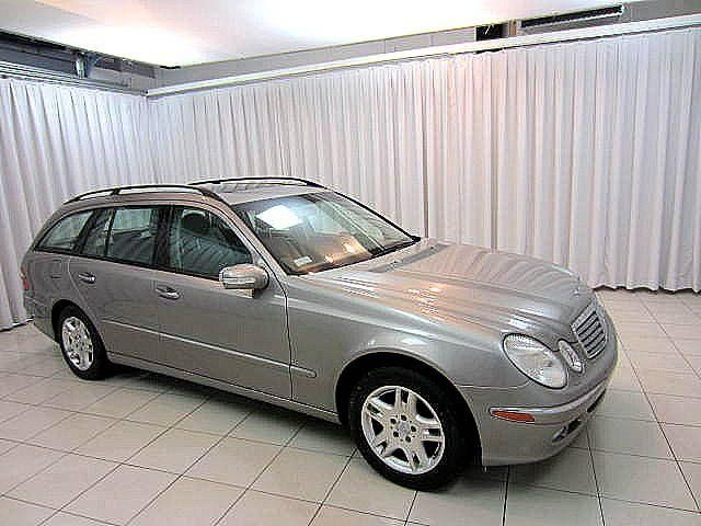 Vehicle details for Mercedes benz 2004 e320