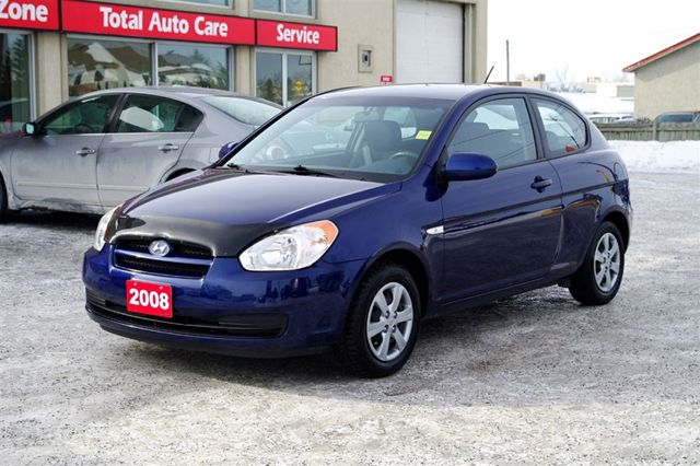 2008 hyundai accent gl 3dr ottawa ontario used car for sale. Black Bedroom Furniture Sets. Home Design Ideas