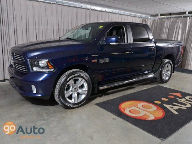 Dodge RAM 1500 Sport 4x4 Crew Cab Shortbox w/ Nav & Leather - Edmonton