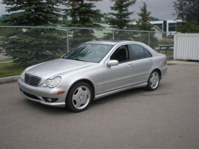 Vehicle details for 2002 mercedes benz c class