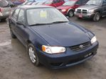 2001 Toyota Corolla auto,ac,pwr.locks,fnc.avlb.no crdt,no prbl,warranty avilable in Ottawa, Ontario