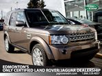 2010 Land Rover LR4 Local,One Owner, Accident Free, Nav, Bluetooth, Rear DVD. in Edmonton, Alberta