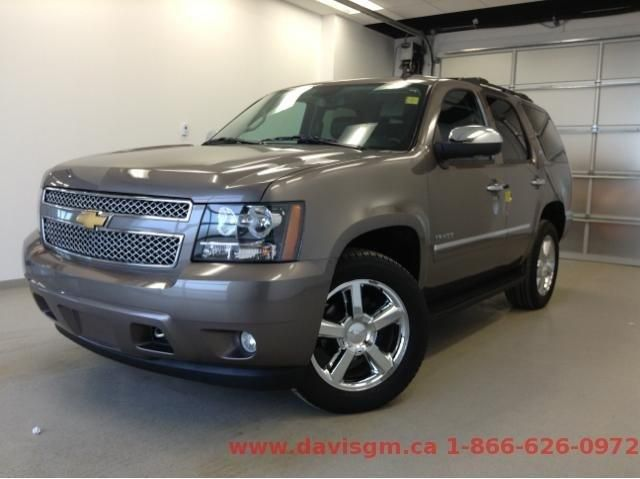 2013 chevrolet tahoe ltz lethbridge alberta used car for sale. Black Bedroom Furniture Sets. Home Design Ideas